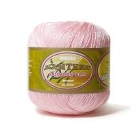 Пряжа Камтекс Вискозный шелк блестящий (293 розовый песок)