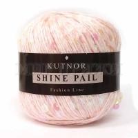 Пряжа Кутнор Шайн Пэйл пайетки на хлопке (046 розовые)
