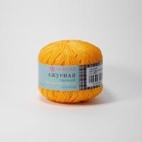 Пряжа Пехорка Ажурная (485 желто-оранжевый)