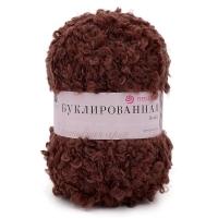 Пряжа Пехорка Буклированная (173 грильяж)