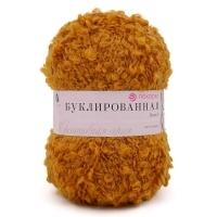 Пряжа Пехорка Буклированная (447 горчица)
