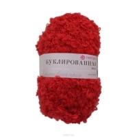 Пряжа Пехорка Буклированная (88 красный мак)