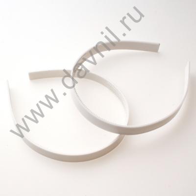 Основа для ободка с гребнем пластмассовая 14 мм бежевая