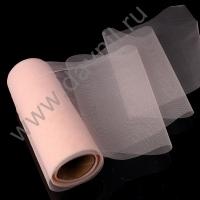Фатин премиум 15 см 1 м розовый (розовый)