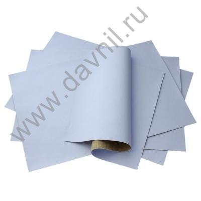 Кожзам листовой однотонный 20х28 см светло-сиреневый, 1 лист