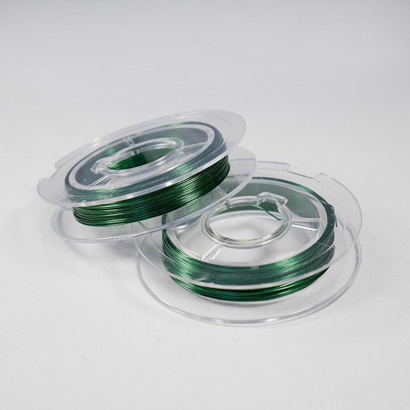Проволка 0,4 мм 50 м зеленая 13