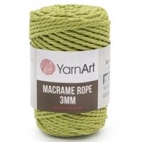 Пряжа YarnArt Macrame Rope 3mm (755 фисташковый)
