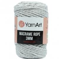 Пряжа YarnArt Macrame Rope 3mm (756 светло-серый)