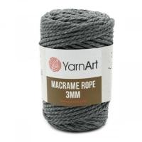 Пряжа YarnArt Macrame Rope 3mm (758 т.маренго)