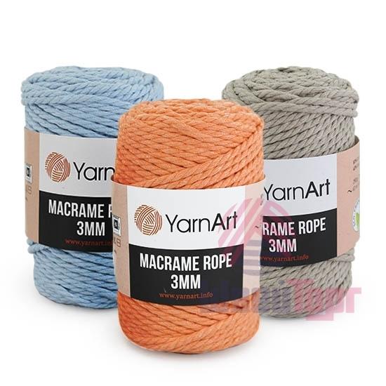 Пряжа YarnArt Macrame Rope 3mm