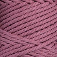 Пряжа YarnArt Macrame Rope 5mm (792 пыльная роза)