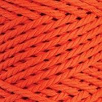 Пряжа YarnArt Macrame Rope 5mm (800 оранжевый)