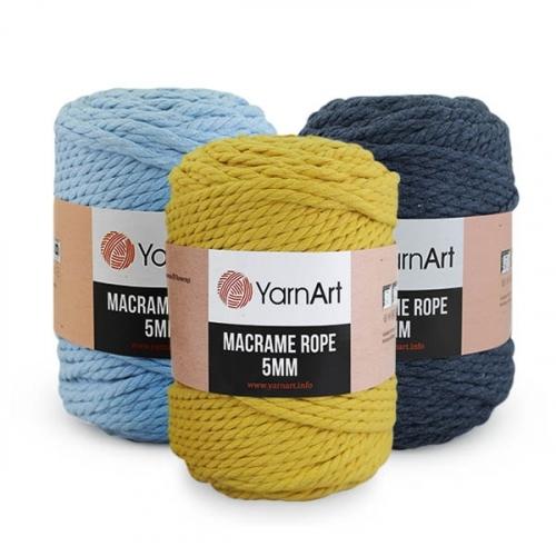 Пряжа YarnArt Macrame Rope 5mm