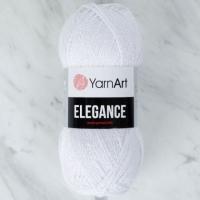 Пряжа YarnArt Elegance (117 белоснежный)