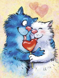 Картина по номерам ME1130 Влюбленные