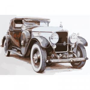 Картина по номерам MC1037 Ретро-авто