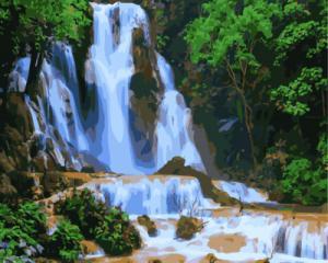 Картина по номерам GX7869 Красивые водопады