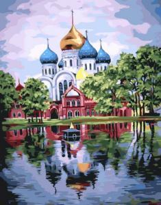 Картина по номерам GX22071 Николо-Угрешский монастырь