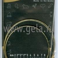 Спицы Addi 4 мм 120 см круговые супергладкие 105-7/4-120 (105-7/120-4)