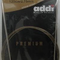 Спицы Addi 2,75 мм 120 см круговые супергладкие 105-7/2,75-120 (105-7/2,75-120)