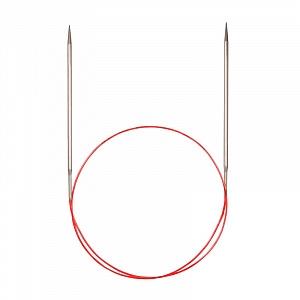 Спицы Addi 40 см 2,5 мм круговые с удлиненным кончиком 775-7/2,5-40