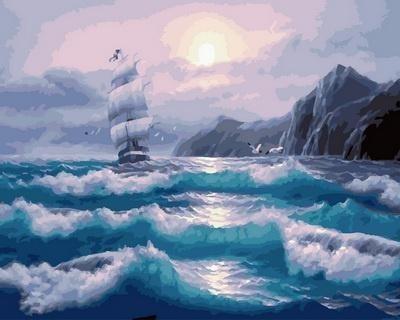 Картина по номерам GX 32536 Корабль 40х50 см
