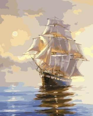 Картина по номерам GX 3383 Корабль 40х50 см