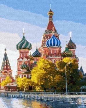 Картина по номерам GX 36921 Кремль 40х50 см