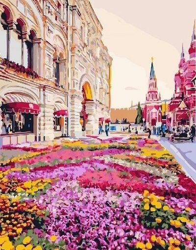 Картина по номерам GX 25493 Городской пейзаж 40х50 см