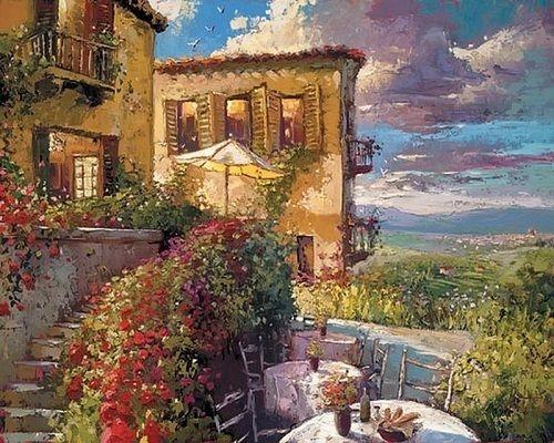 Картина по номерам GX 22969 Красивый пейзаж 40х50 см