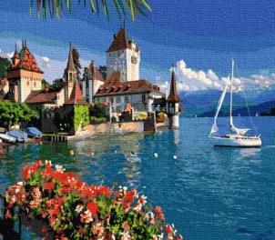 Картина по номерам GX 36705  Морской пейзаж 40х50 см