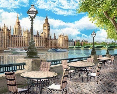 Картина по номерам GX 25070 Кафе 40х50 см