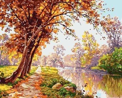 Картина по номерам GX 31760 Красивый пейзаж 40х50 см