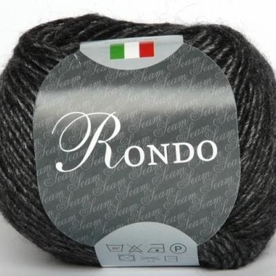 Пряжа Сеам Рондо (Пряжа Сеам Рондо, цвет 501 черно-графитовый)