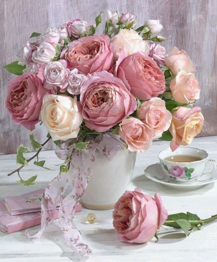 Картина по номерам GX 22794 Нежные розы 40х50 см