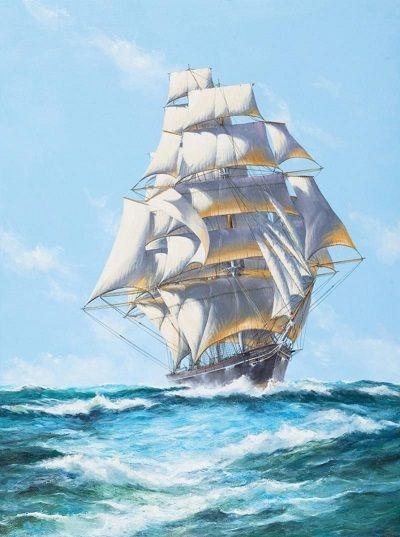 Картина по номерам GX 4011 Корабль 40х50 см