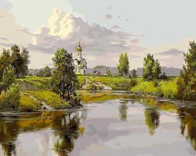 Картина по номерам GX 9829 Прищепа Игорь Русь 40х50 см