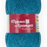 Пряжа Троицкая Шотландский твид (Пряжа Троицкая Шотландский твид, цвет 2380 меланж (бирюзовый))