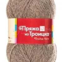 Пряжа Троицкая Шотландский твид (Пряжа Троицкая Шотландский твид, цвет 2454 натуральный темный)