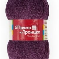Пряжа Троицкая Шотландский твид (Пряжа Троицкая Шотландский твид, цвет 2461 меланж (фиолет))