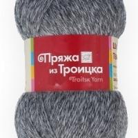 Пряжа Троицкая Шотландский твид (Пряжа Троицкая Шотландский твид, цвет 2920 меланж (т.серый))