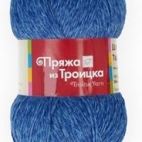 Пряжа Троицкая Шотландский твид (Пряжа Троицкая Шотландский твид, цвет 3700 меланж(голубой))