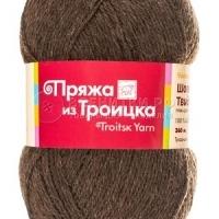 Пряжа Троицкая Шотландский твид (Пряжа Троицкая Шотландский твид, цвет 3800 коричневый)
