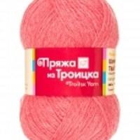 Пряжа Троицкая Шотландский твид (Пряжа Троицкая Шотландский твид, цвет 8003 меланж (коралловый))