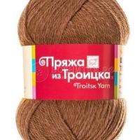 Пряжа Троицкая Шотландский твид (Пряжа Троицкая Шотландский твид, цвет 8010 меланж (табак))