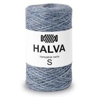 Джутовая пряжа Halva (Голубика)