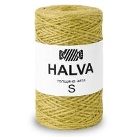 Джутовая пряжа Halva (Горчица)