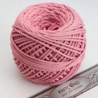 Шнур полиэфирный с сердечником 5 мм для рукоделия Книткорд (2038 розовый)