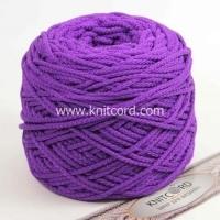Шнур полиэфирный с сердечником 5 мм для рукоделия Книткорд (2037 фиолетовый)