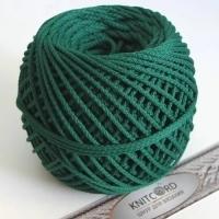 Шнур полиэфирный с сердечником 5 мм для рукоделия Книткорд (2021 темно-зеленый)